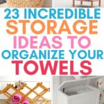 towel storage tips