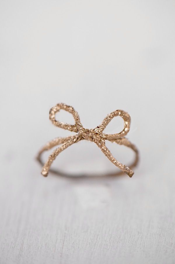 Twine Bow Ring