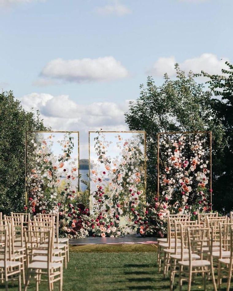 Triple Floral Screens