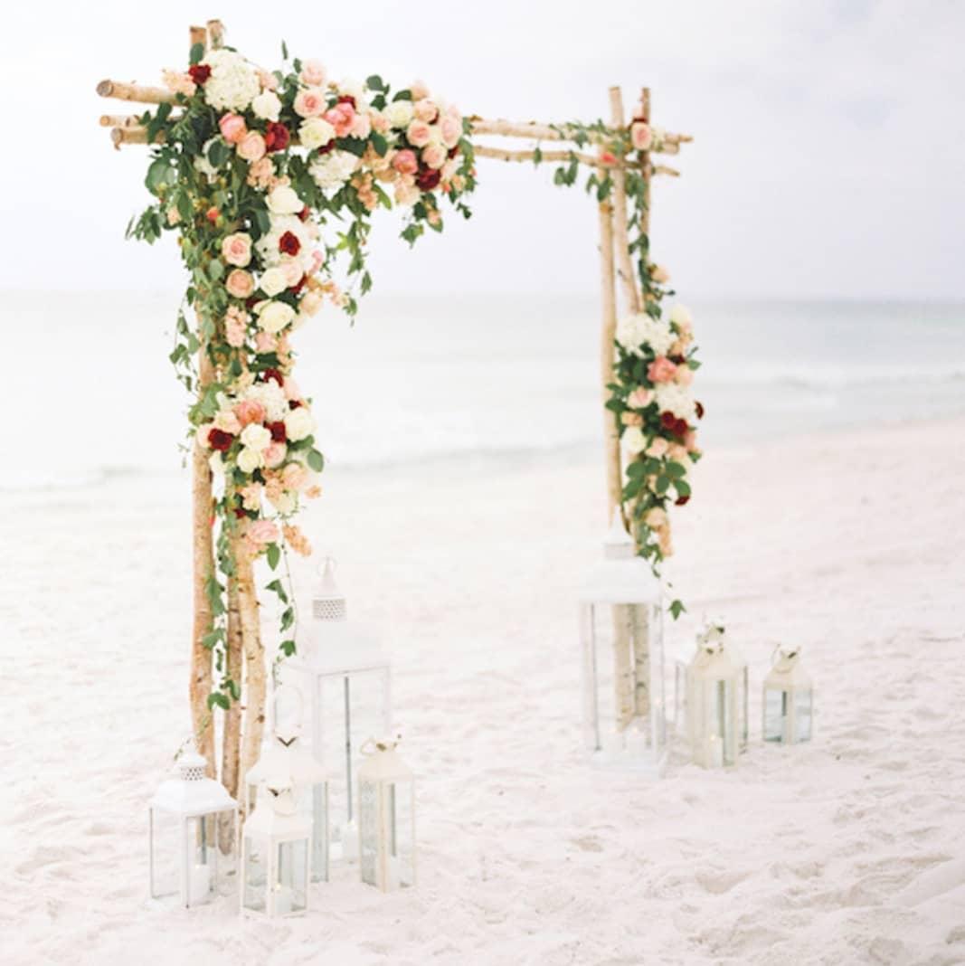 Beachy Rustic Wedding Arch