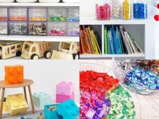 ways to store lego