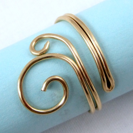 Folded Wire Rings