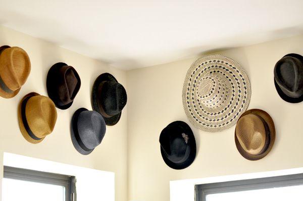 High-Up Hat Hangers