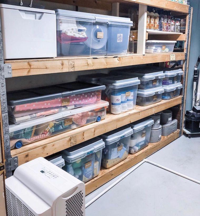 Pallet Shelf Organizer