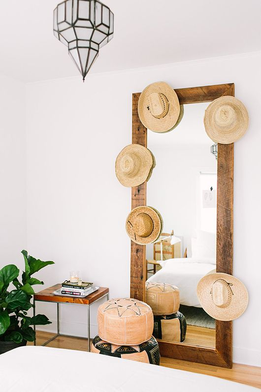 Mirror with Hats