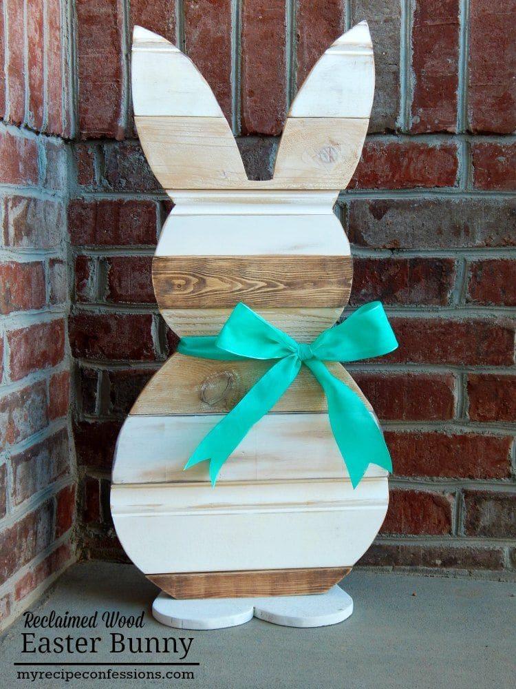 Wood Easter Bunny
