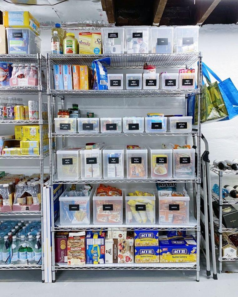basement pantry storage