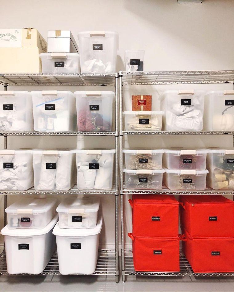 simple storage bins