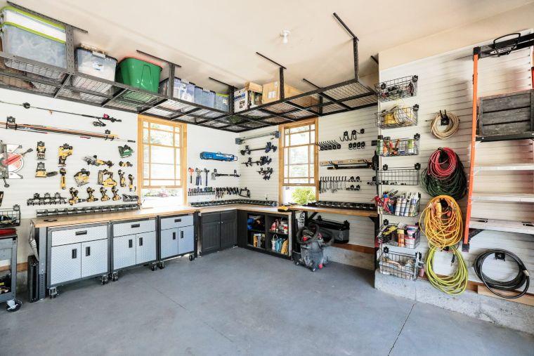 Workshop Ceiling Shelf