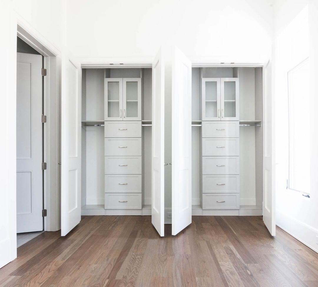 Divided closets