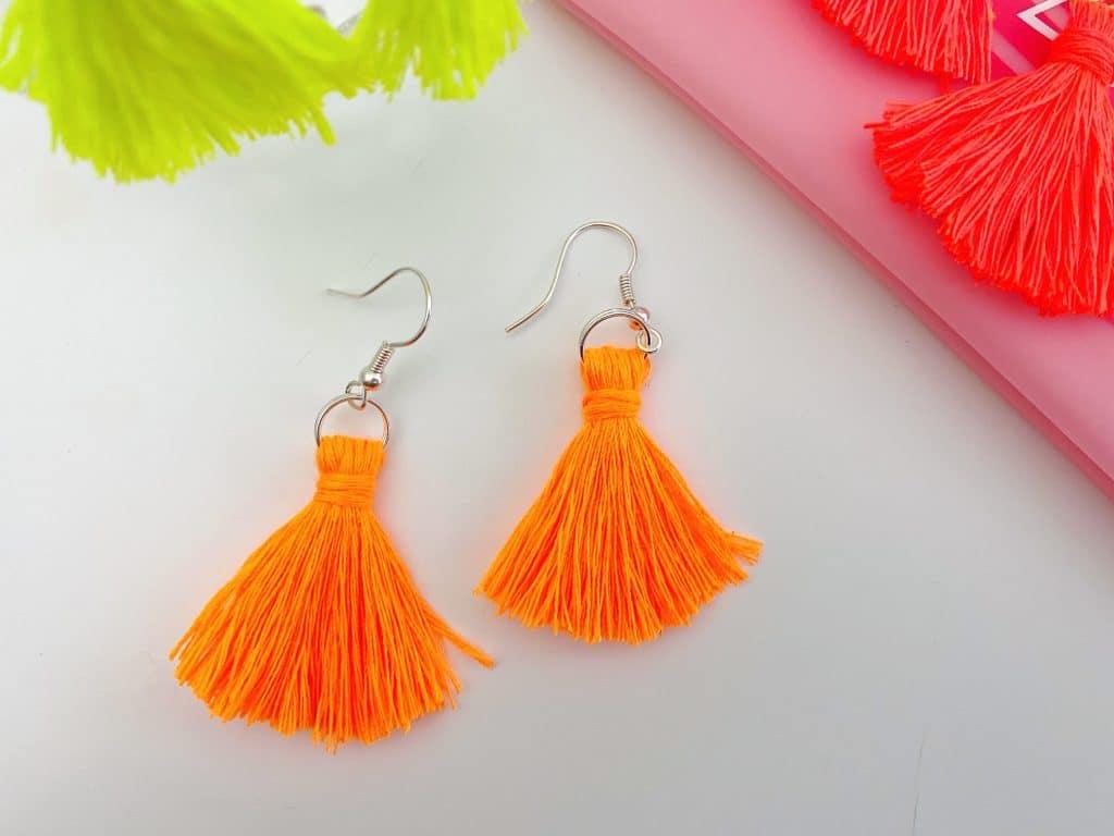 Simple Tassel Earrings