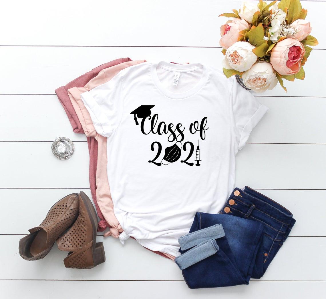 class of 2021 pandemic tshirt