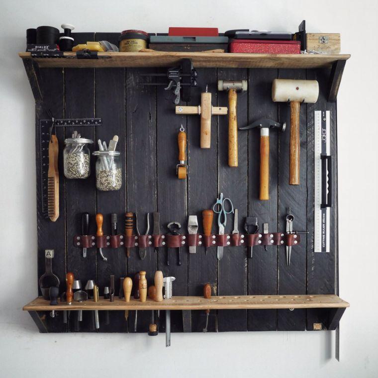 leather tool rack