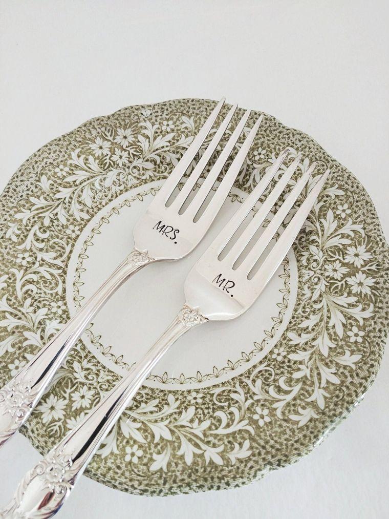 custom silverware
