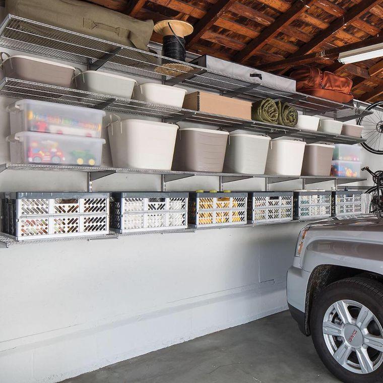 overhead wall storage