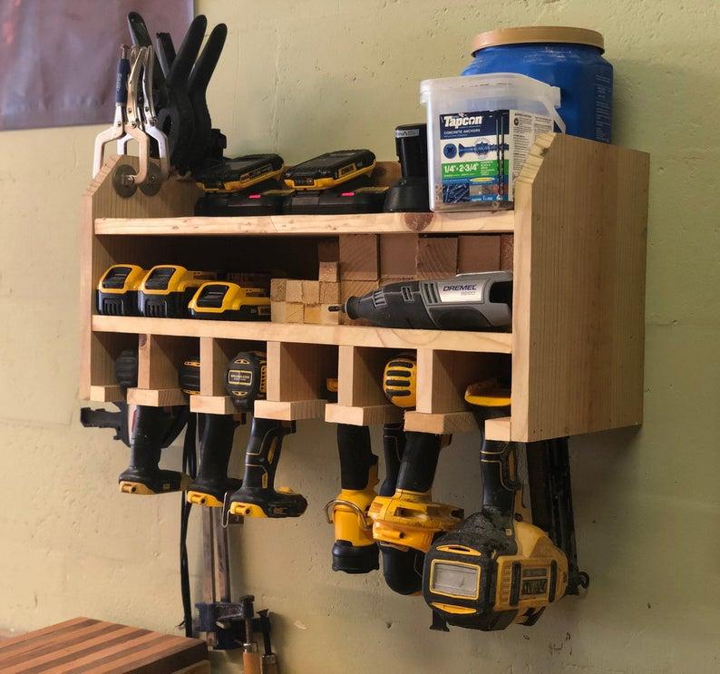 cordless drill station