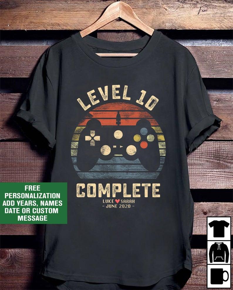 level 10 anniversary shirt