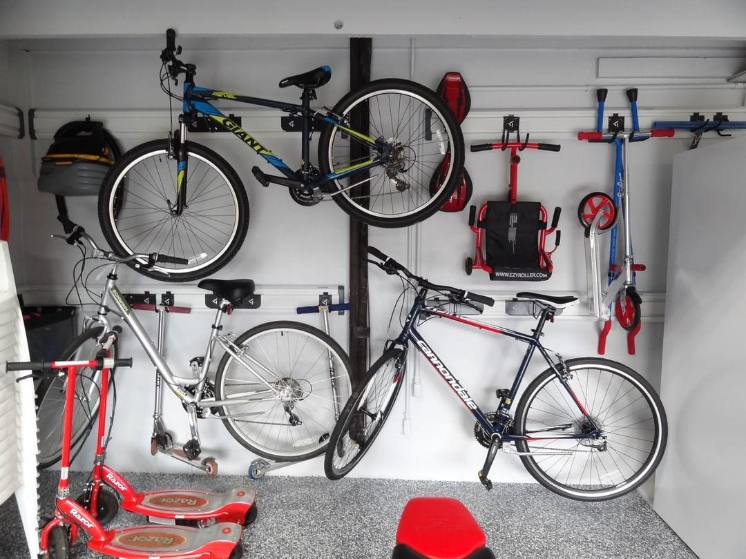 wall mounted bikes