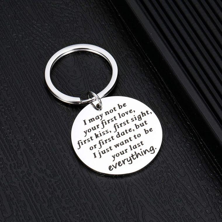 romantic keychain