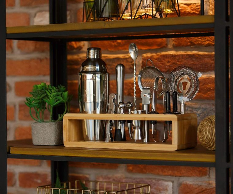 cocktail mixology set