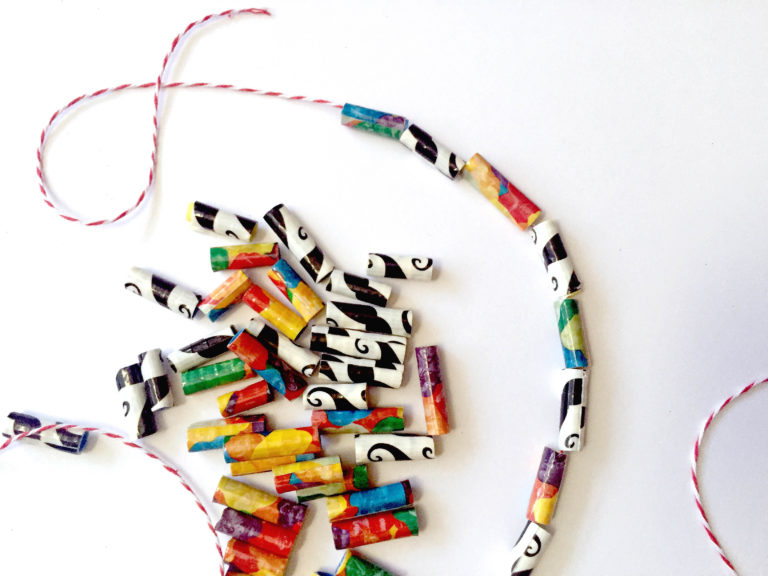 Duct Tape Beads