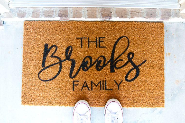 Cricut Welcome Doormat