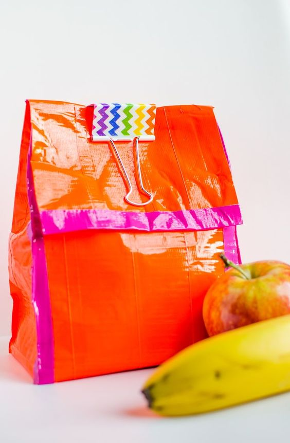 Duct Tape Lunch Bags