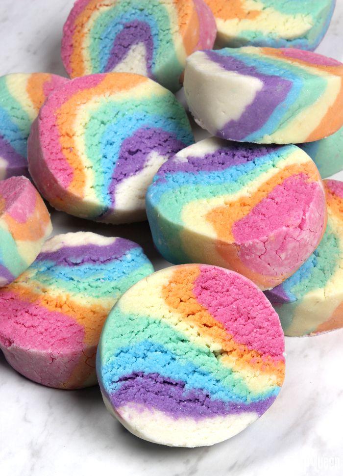 Rainbow Bubbling Bath Truffles
