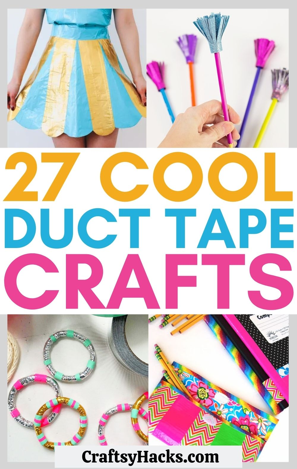 duct tape craft ideas