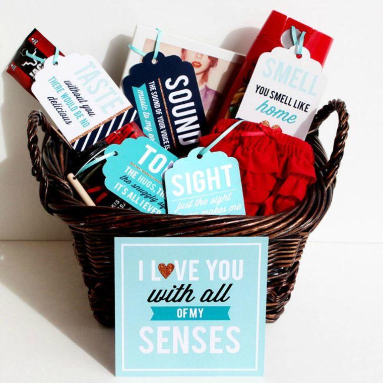 5 senses gift box