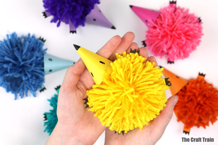 Pom-Pom Hedgehogs