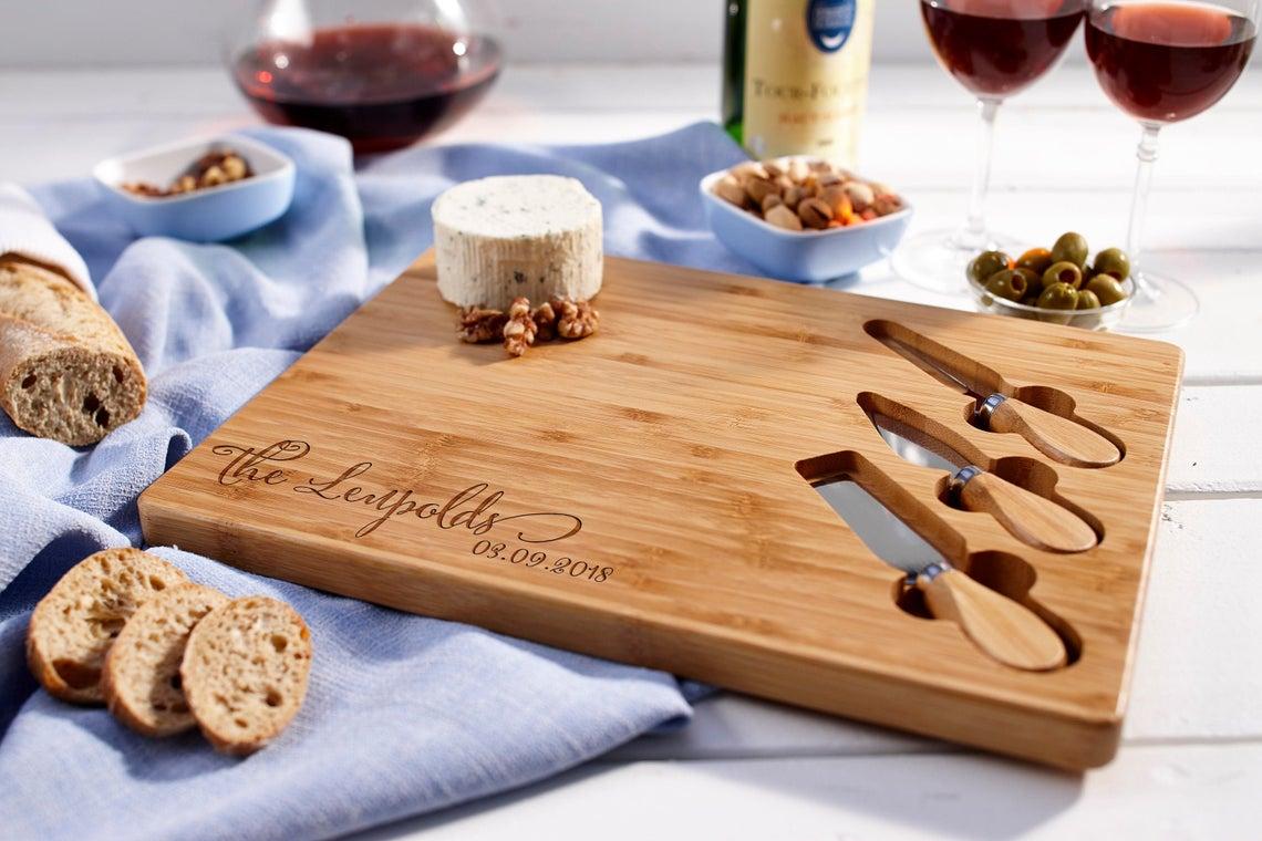 custom cheese board