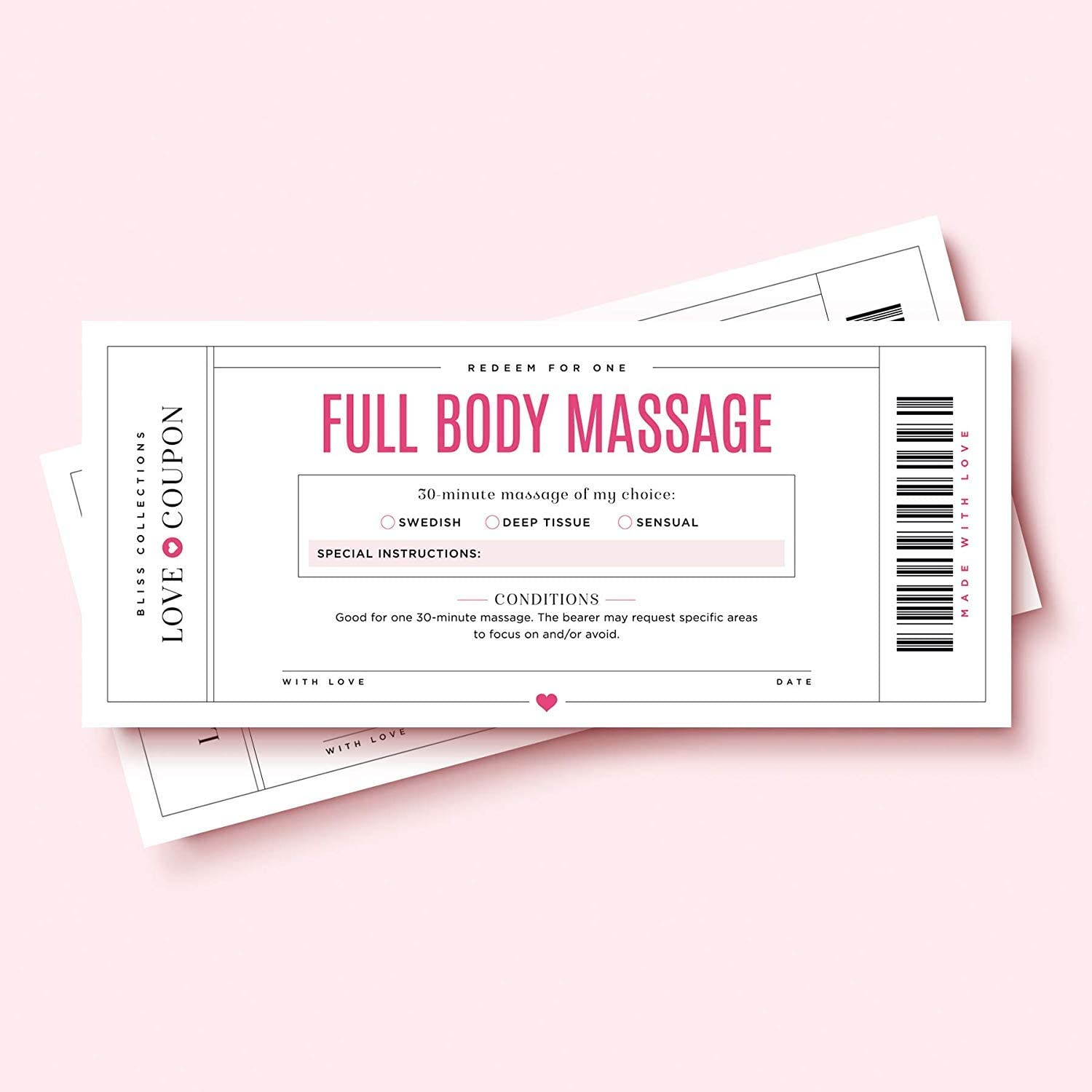 massage coupons