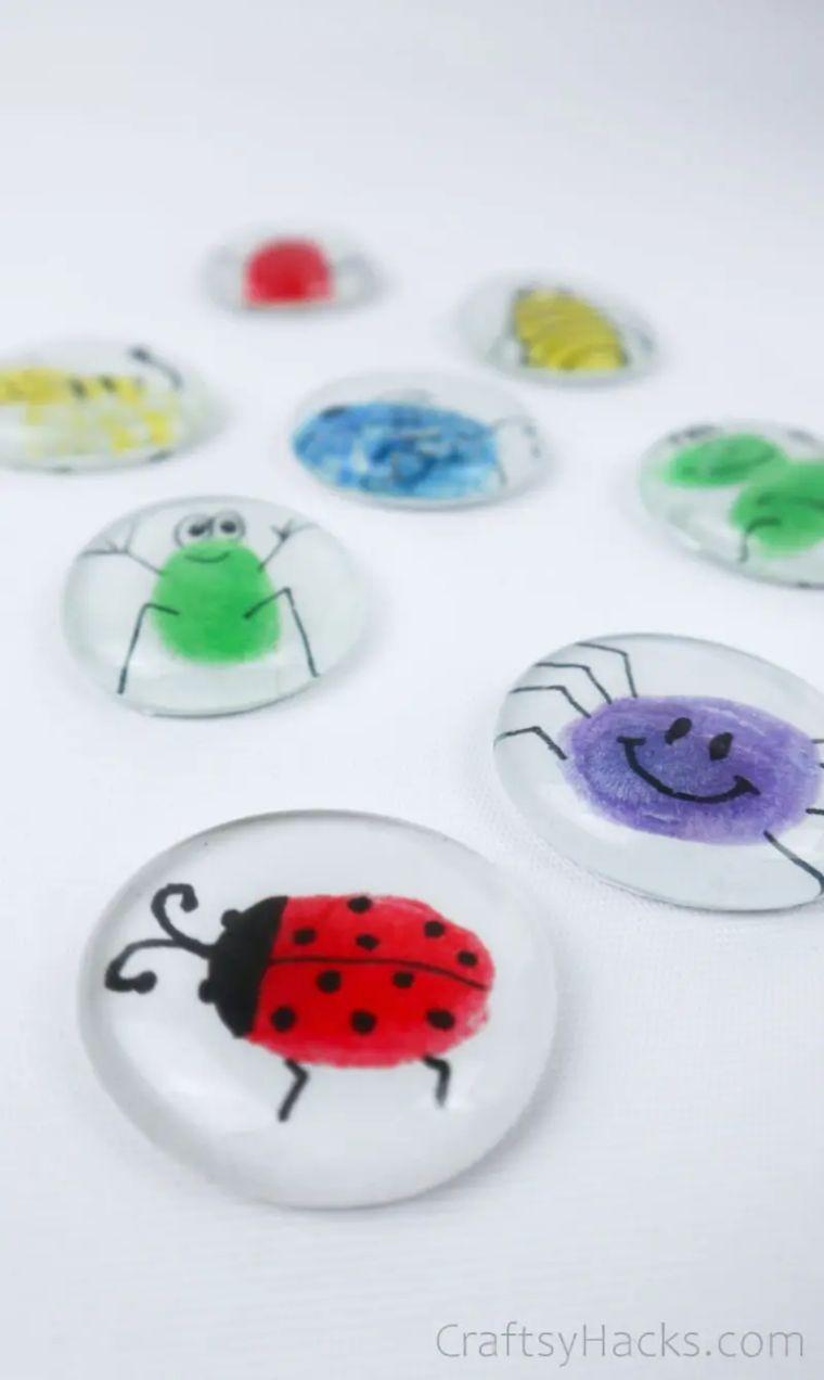 Fingerprint Glass Magnets