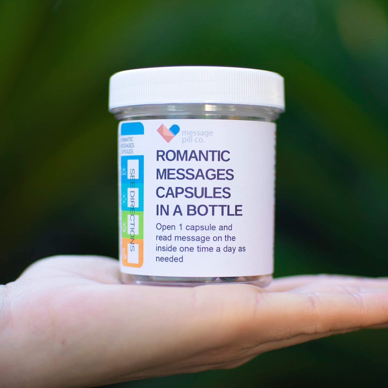 message capsule bottle