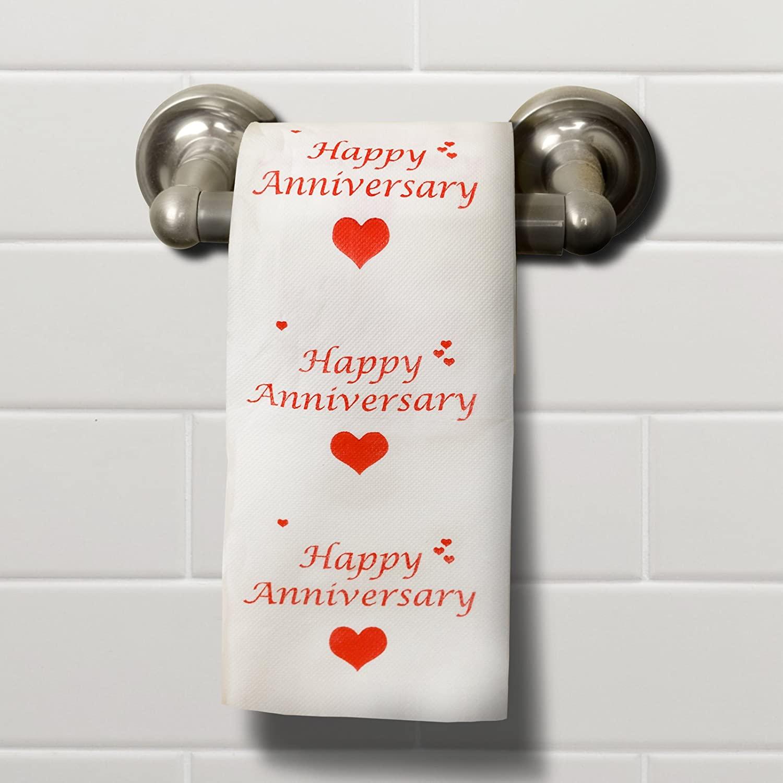anniversary toilet paper