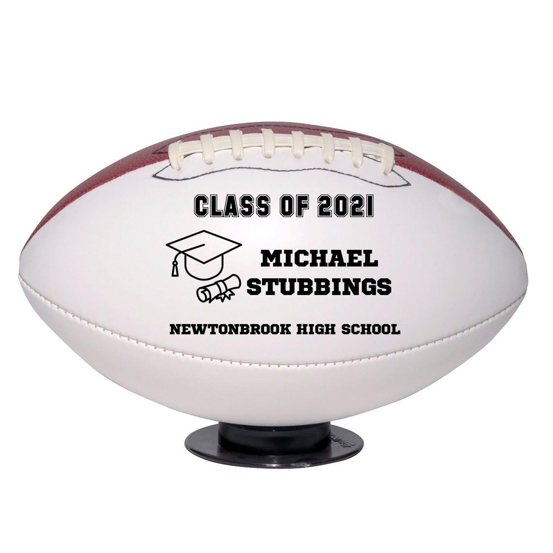 miniature grad football