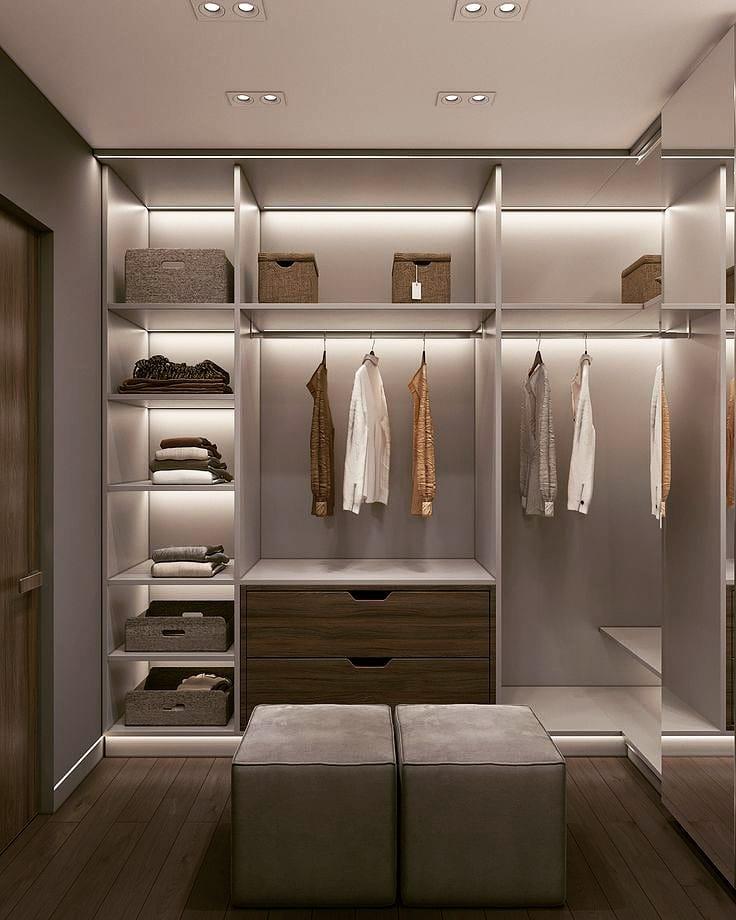 Backlit Shelves