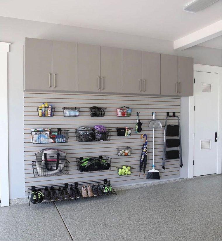 storage with baskets