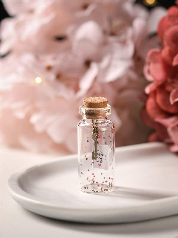 key in a bottle