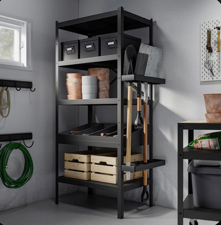 industrial gardener shelves