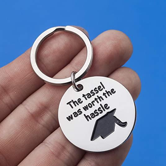 worth the hassle keychain