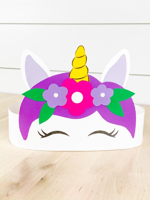 Unicorn Headband Craft