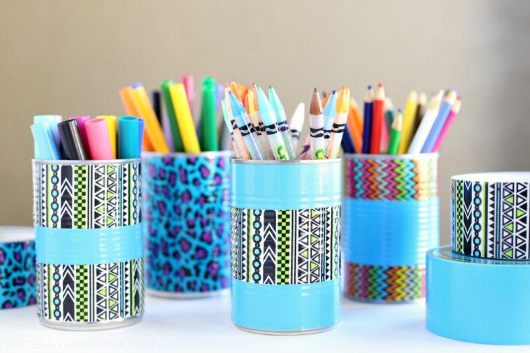 Pencil Holder and Art Organizer