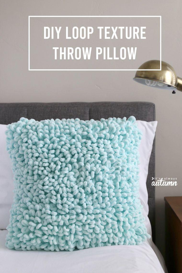 Loop Texture Throw Pillow