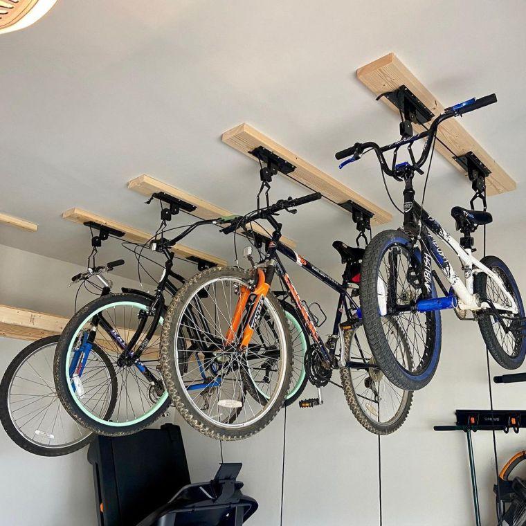 Suspended Bike Storage