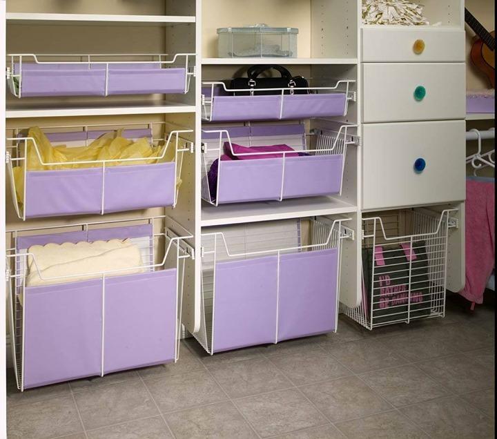 purple wire basket pantry