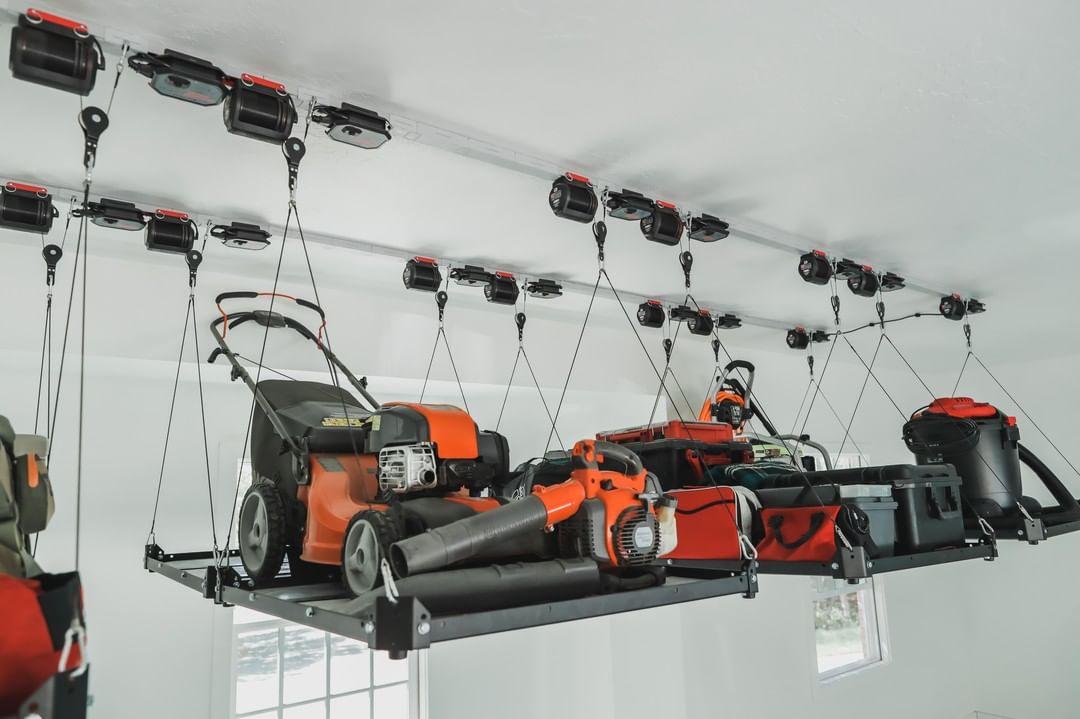 Suspended Power Tool Racks