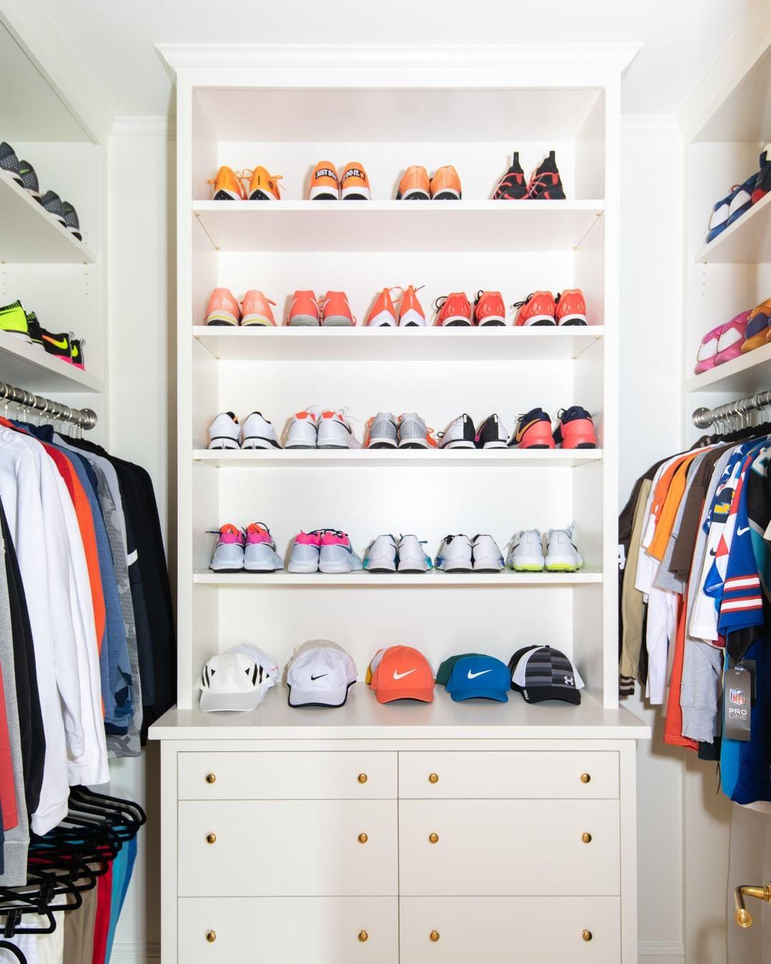 Shoe Storage Wall