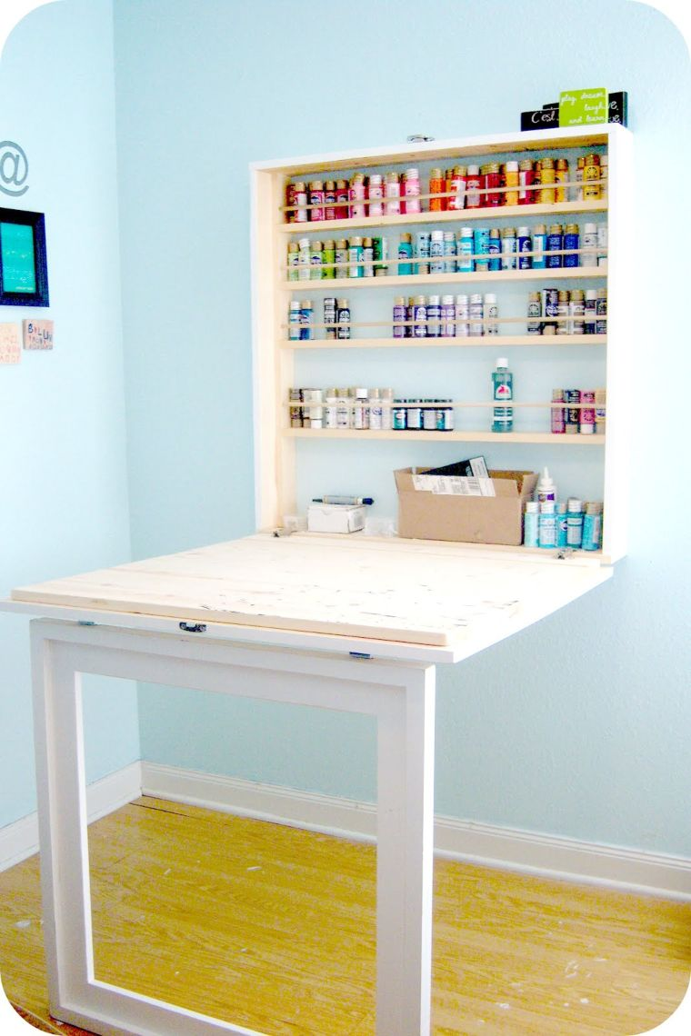 Built-In Craft Table